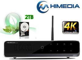 đầu phát hd himedia q10 II 4k kèm với hdd 2tb
