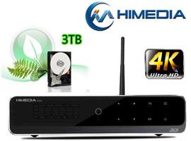Đầu phát HD Himedia Q10 IV 4K với ổ cứng 3TB