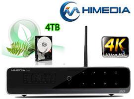 Đầu phát HD Himedia Q10 IV 4K với ổ cứng 4TB
