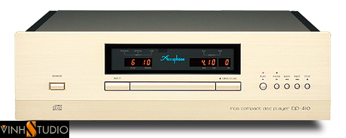 Accuphase DP-410 dau cd player gia re  mat truoc front