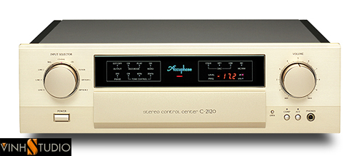 STEREO CONTROL CENTER Accuphase C2120 mat truoc front