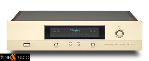 aCCUPHASE c-27 MAT TRUOC FRONT