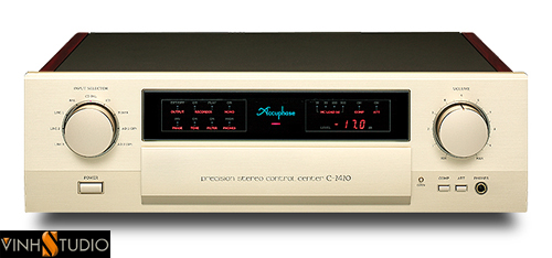 ACCUPHASE C-2420  PREAMPLIFIER front mat truoc