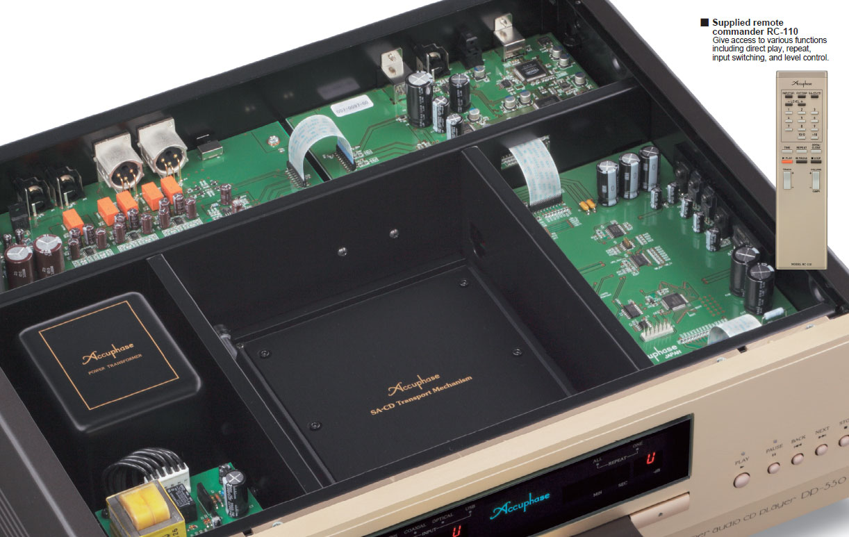 Accuphase DP-550 dau cd gia re