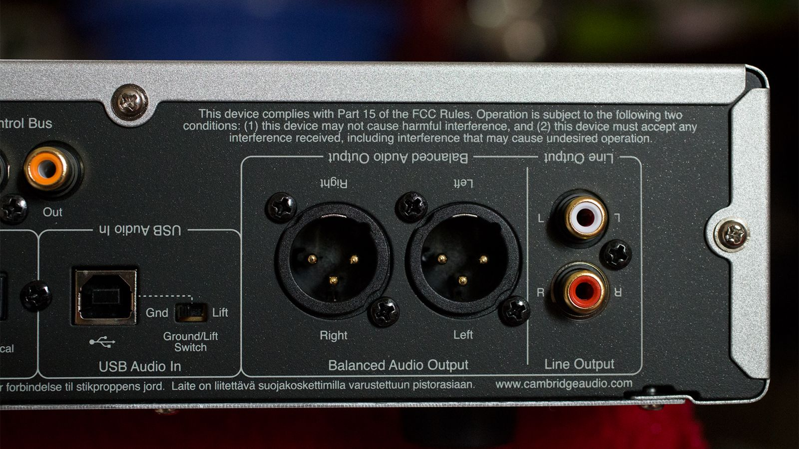 cambridge audio cxn v2 back