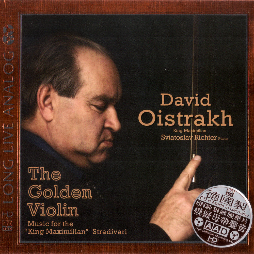 David Oistrakh - The Golden Violin